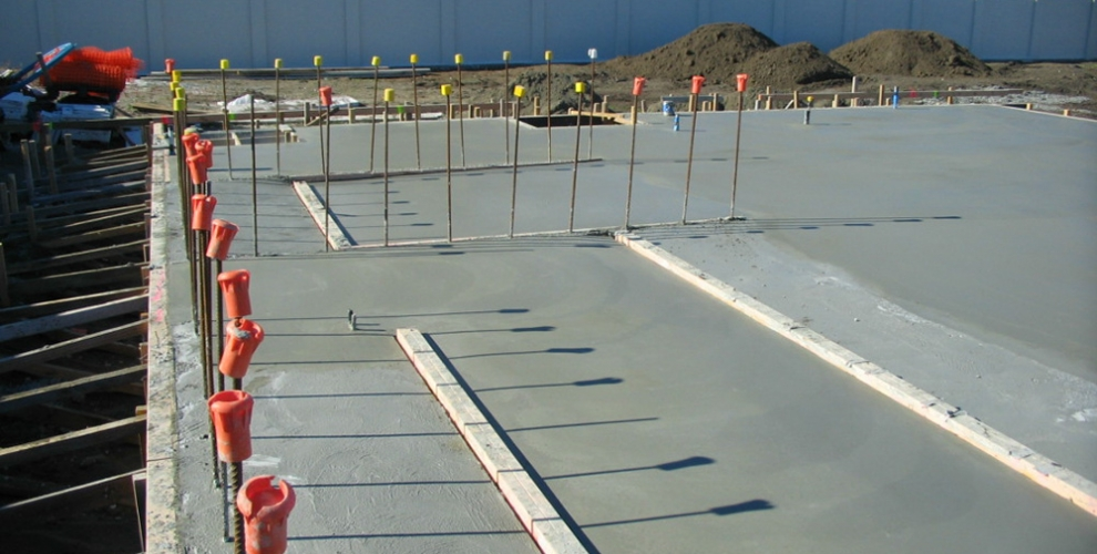 1. Concrete Slab