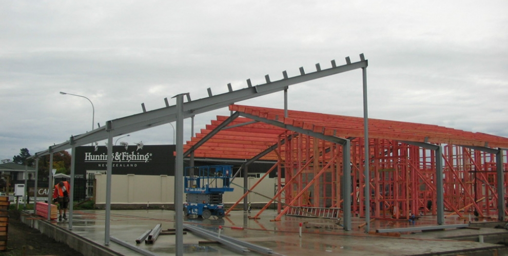 3. Steel Framing
