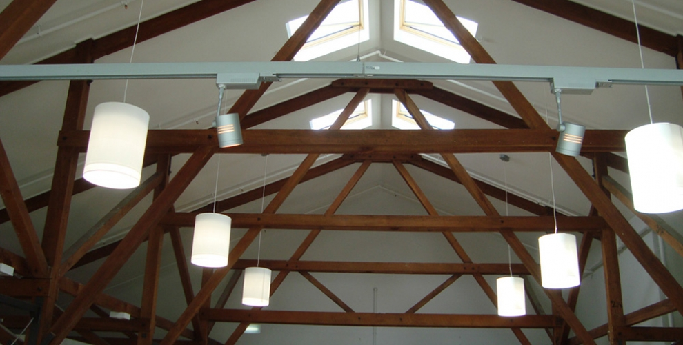 7.Interior Roof Trusses