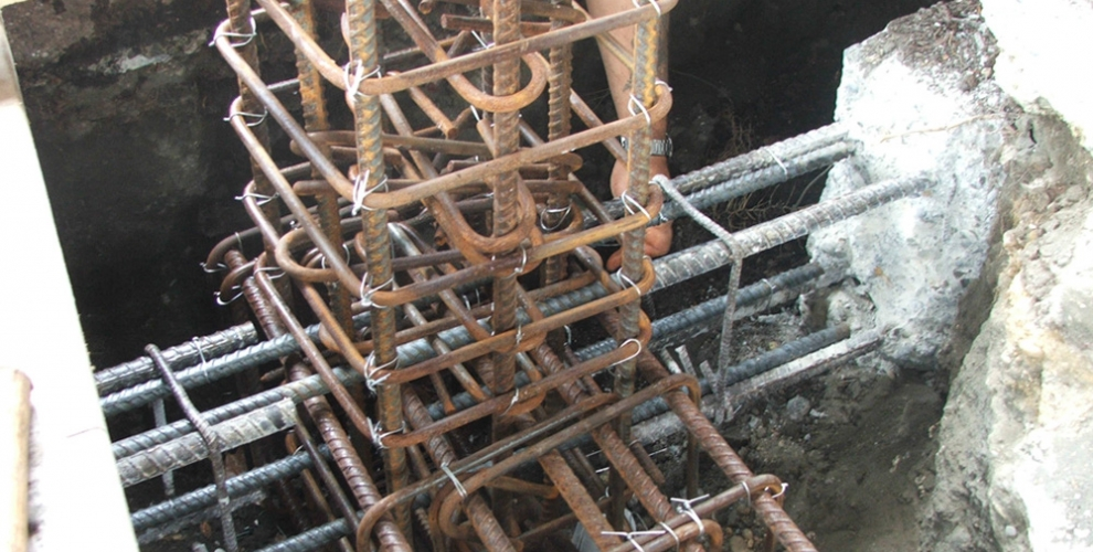 5. Concrete Column Footing